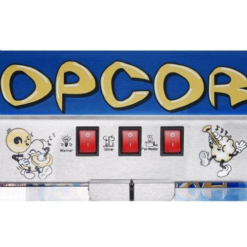 maquina crispetera great northern popcorn 6208 topstar