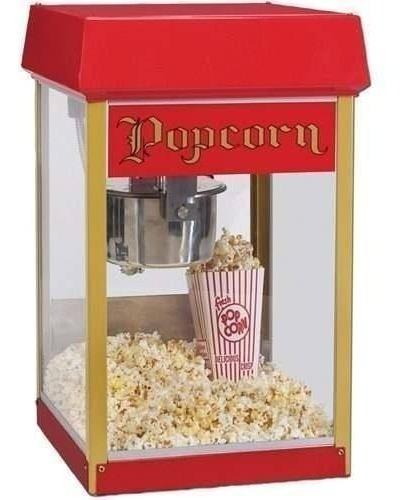 maquina crispetera popcorn palomita 2404 red fun pop 4 oz