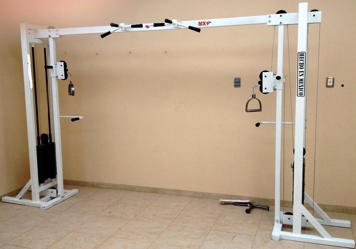 Maquina crossover de gym multiuso bs en for Maquinas para gym