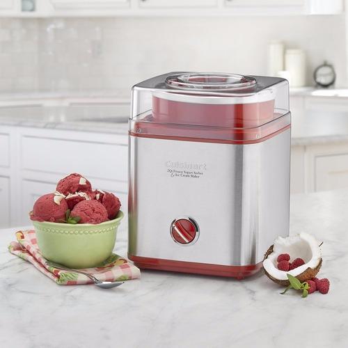 maquina cuisinart para hacer nieve yogurt o sorbetes helado