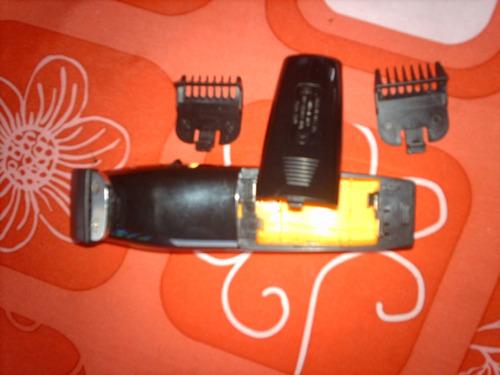 maquina de afeitar barba whal amarilla