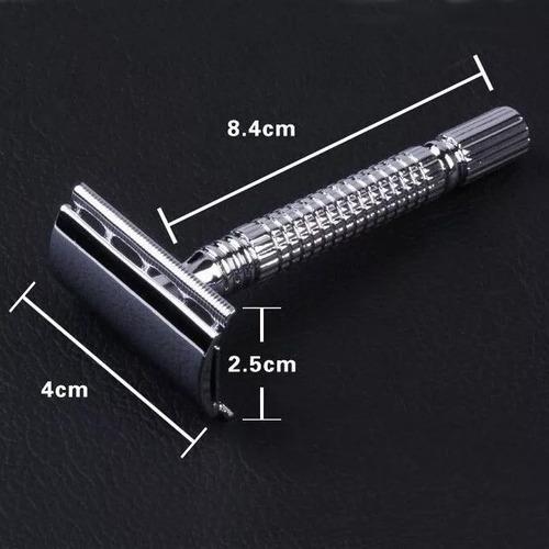 maquina de afeitar clásica tradicional + cuchilla shaver
