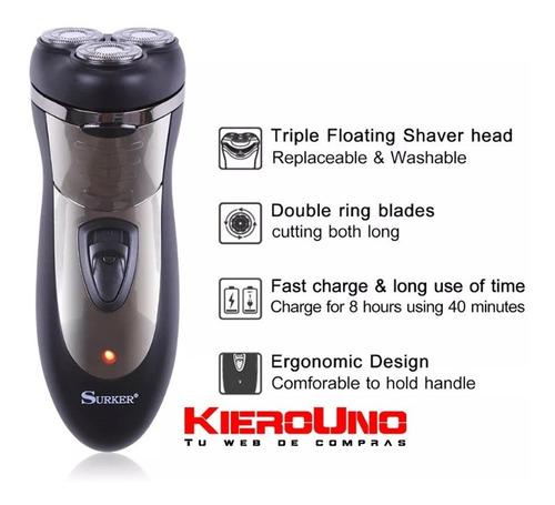 maquina de afeitar corta patilla recargable inalambrica k317