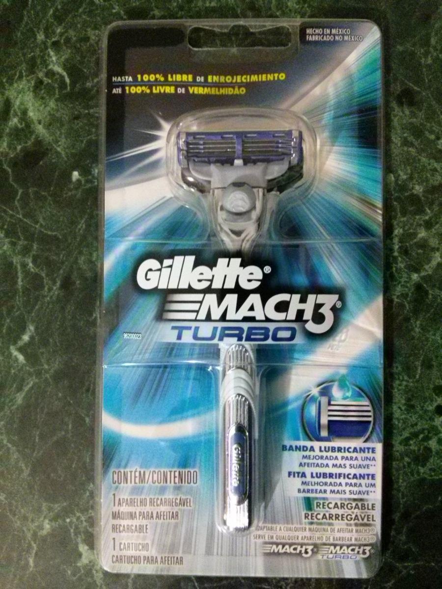 maquina de afeitar gillette mach 3 turbo. Cargando zoom. 4cc7adf8366c