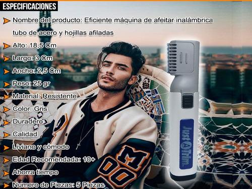 maquina de afeitar inalambrica cabello barba area dificil