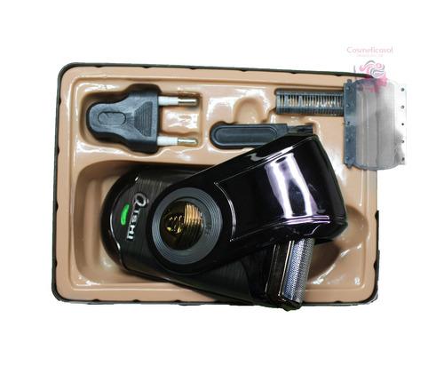 maquina de afeitar portátil recargable eléctrica