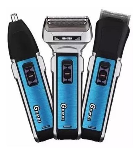 maquina de afeitar recargable 3 en 1 afeitadora