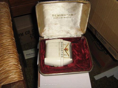 maquina de afeitar remington  para coleccion falta cable
