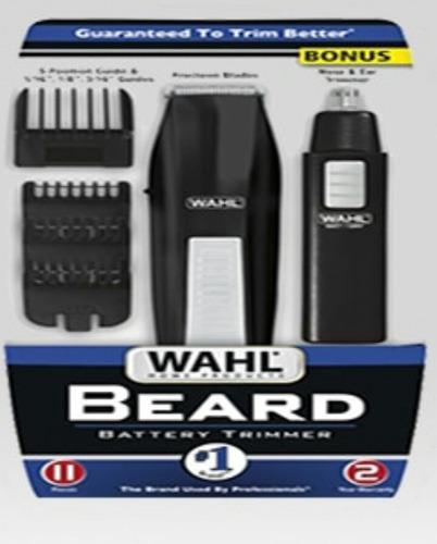 maquina de afeitar wahl para barba nariz oidos patillas ceja
