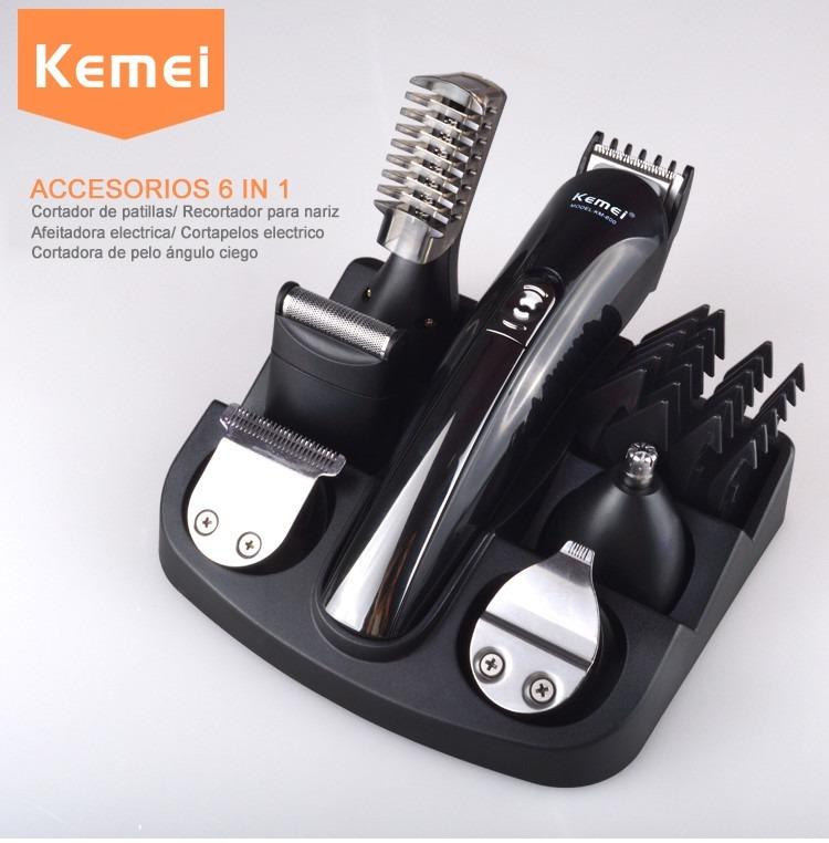 Máquina De Afeitar Y Corte De Cabello Kemei 600   6 En 1 - S  185 5fe180a8981f