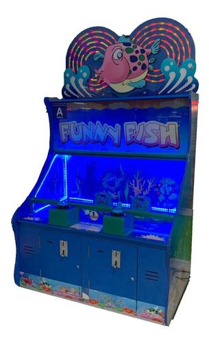 maquina de agua funny fish | venta maquinas para negocios