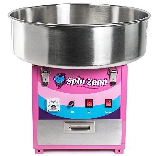 máquina de algodón de azúcar olde midway de calidad