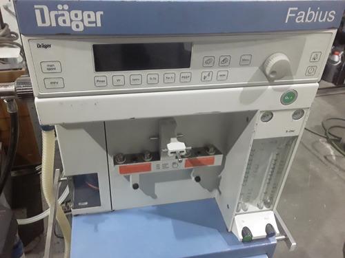 maquina de anestesia drager fabius