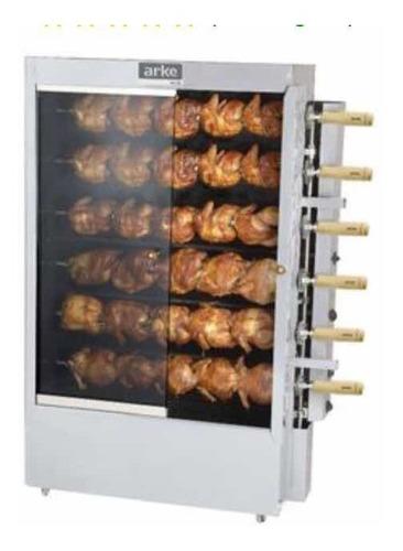 máquina de assar frango / frangueira 30 frangos semi nova