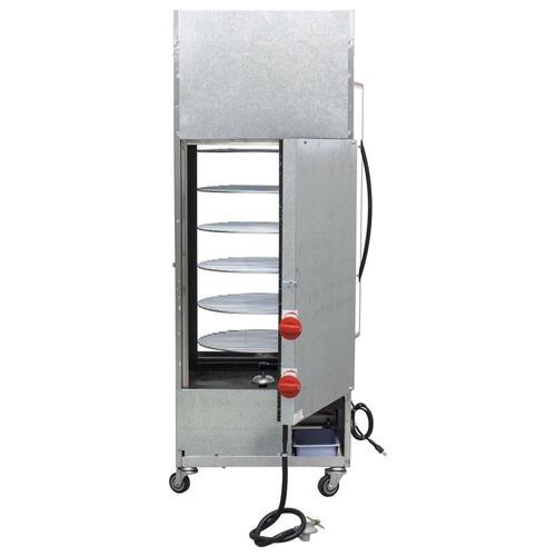 máquina de assar frango giratório progás 70kg