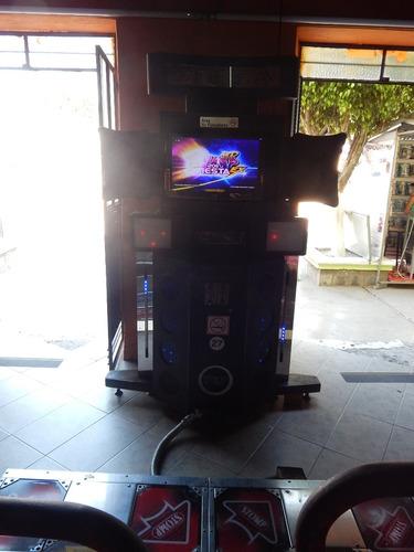 maquina de baile pump it up fiesta ex 2011