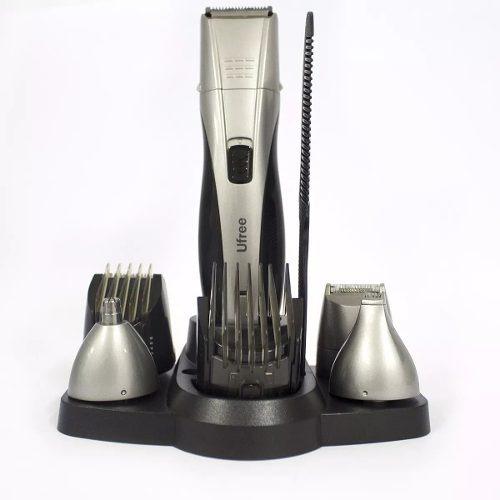 máquina de barbear/cabelo multifunções 7em1 ufree uf-6170