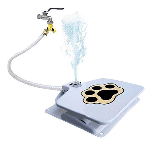 maquina de beber agua para cachorro caes e gato com pedal