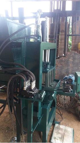 máquina de blocos pneumáticos de alto impacto!