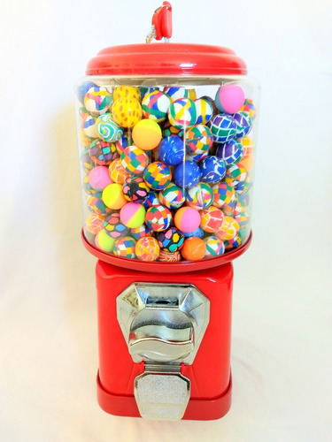 máquina de bolinha pula pula - vending machine importada
