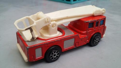 maquina de bomberos