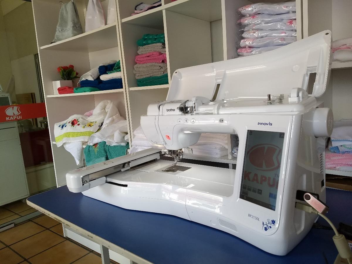 Máquina De Bordado Brother Bp2150l Com Software E Matrizes - R ... 56b5caf5a04