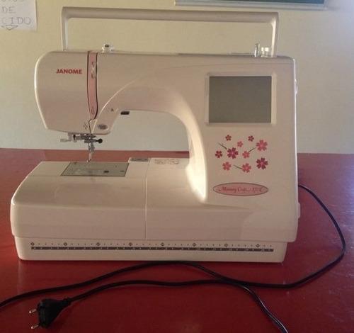 máquina de bordar bordadeira janome 370e preço negociável