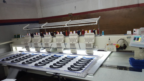 máquina de bordar computarizada
