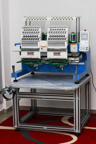 maquina de bordar industrial,bordadora, ,2 cabezas15 agujas