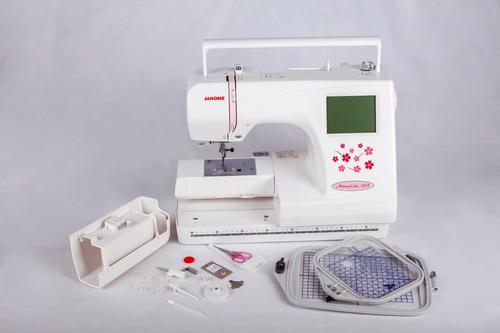 máquina de bordar janome mc370e