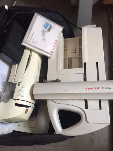 máquina de bordar y coser singer furura ce -150