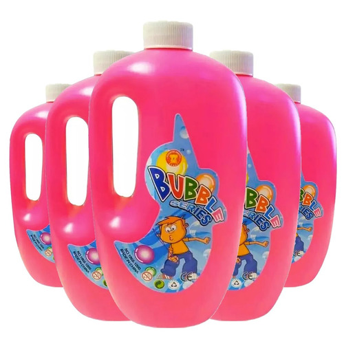 maquina de burbujas + 5 litro de liquido especial