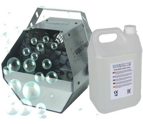 maquina de burbujas + 5 litro de liquido especial / fernapet