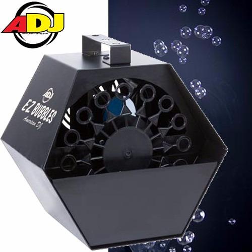 maquina de burbujas american audio dj ez bubles nuevas