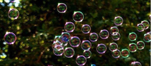 maquina de burbujas - bubble machine - azul