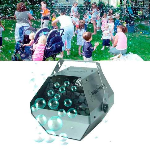 maquina de burbujas carcasa metalica control remoto