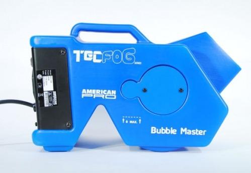 maquina de burbujas  master bubble tec fog oferta esdj