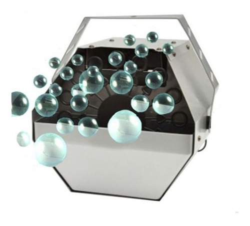 maquina de burbujas metalica electrica / c & s market