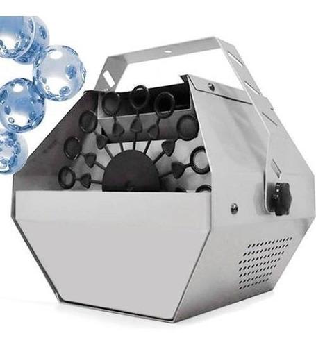 maquina de burbujas metalica / local establecido