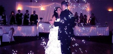 maquina de burbujas para fiestas eventos casamientos 25w