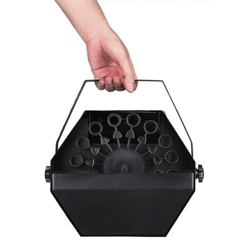 maquina de burbujas portatil control 25w  b21r oferta cuotas