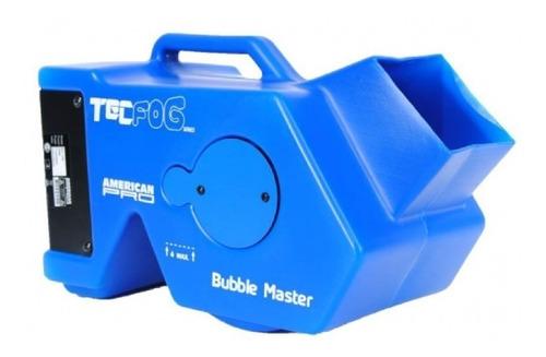 máquina de burbujas tecshow bubble master doble