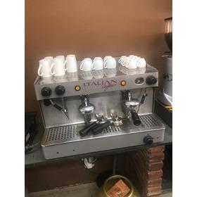 Maquina De Café Expresso Italian Coffee 2 Grupos Com Moedor