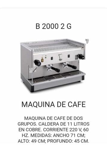 máquina de café industrial marca bezzera