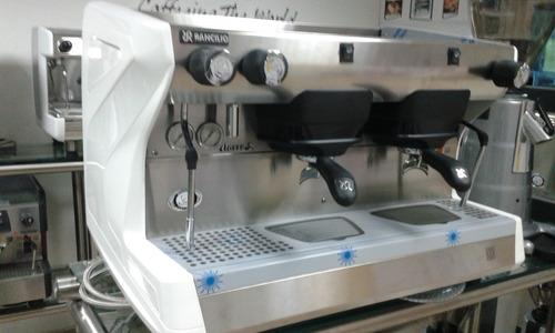 máquina de café marca rancilio modelo clase 5 2 grupos