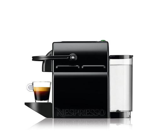 máquina de café nespresso inissia negra