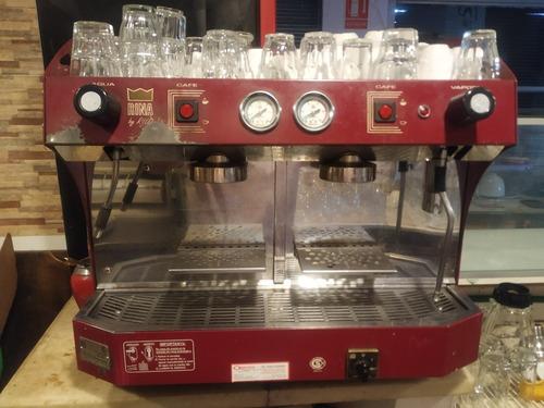 máquina de café para bar rina de 2 grupos