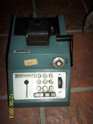 maquina de calcular olivetti