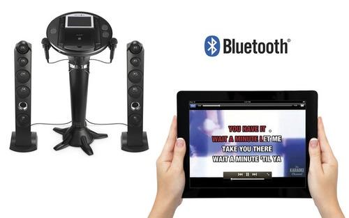 máquina de canto ism1050bt  karaoke