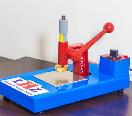 maquina de carimbar chinelo gr1. 1carimbo com 10 numeros lhz